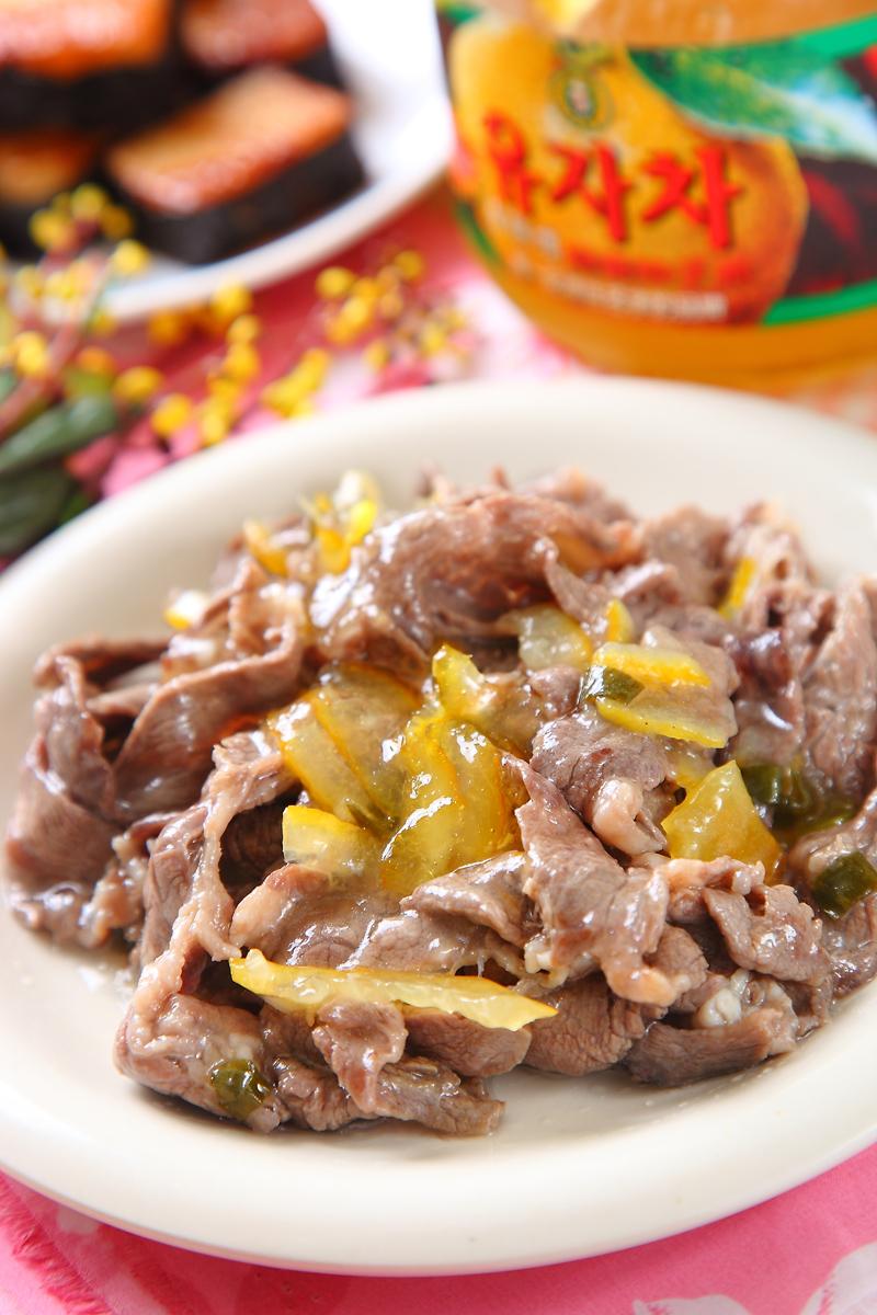 柚子牛肉燒