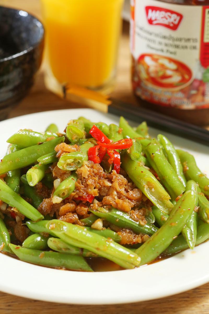 泰式蝦醬四季豆