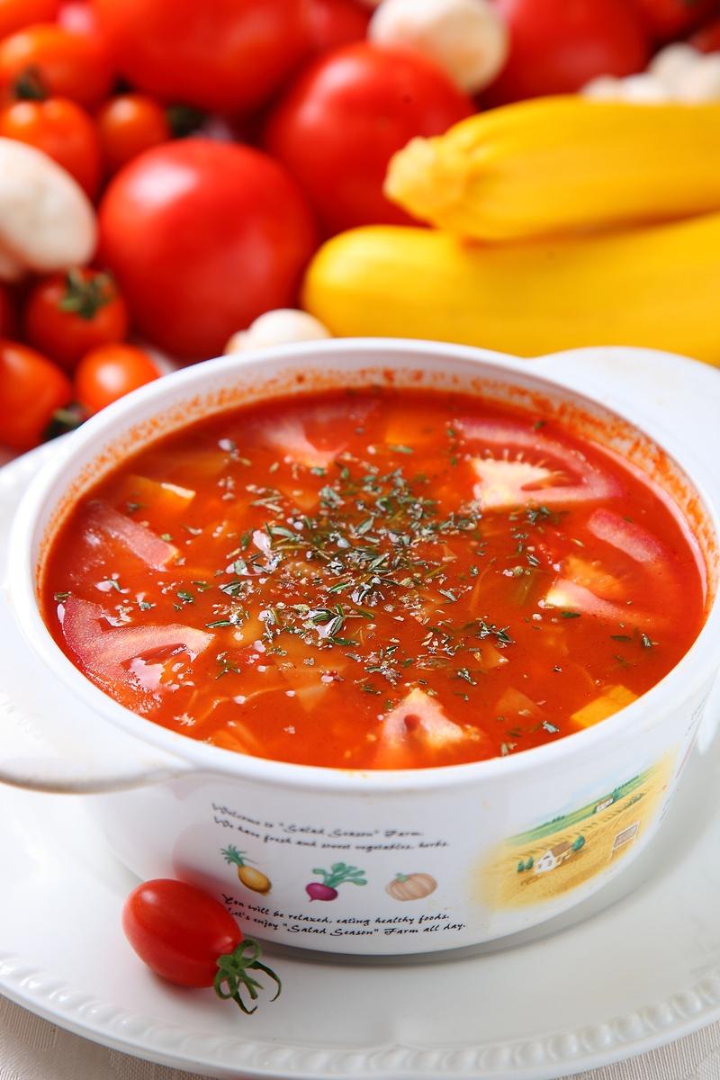 普羅旺斯香草番茄湯