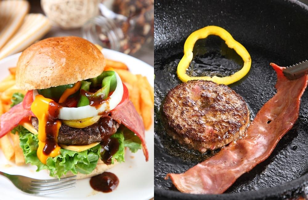 手拍「美式牛肉漢堡」絞肉比例有訣竅!咬開爆出滿滿肉汁