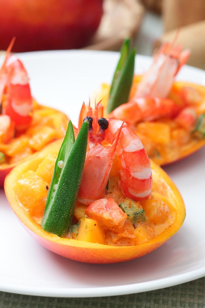 芒果鮮蝦沙拉