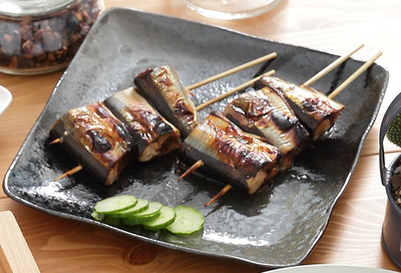 日式烤秋刀魚
