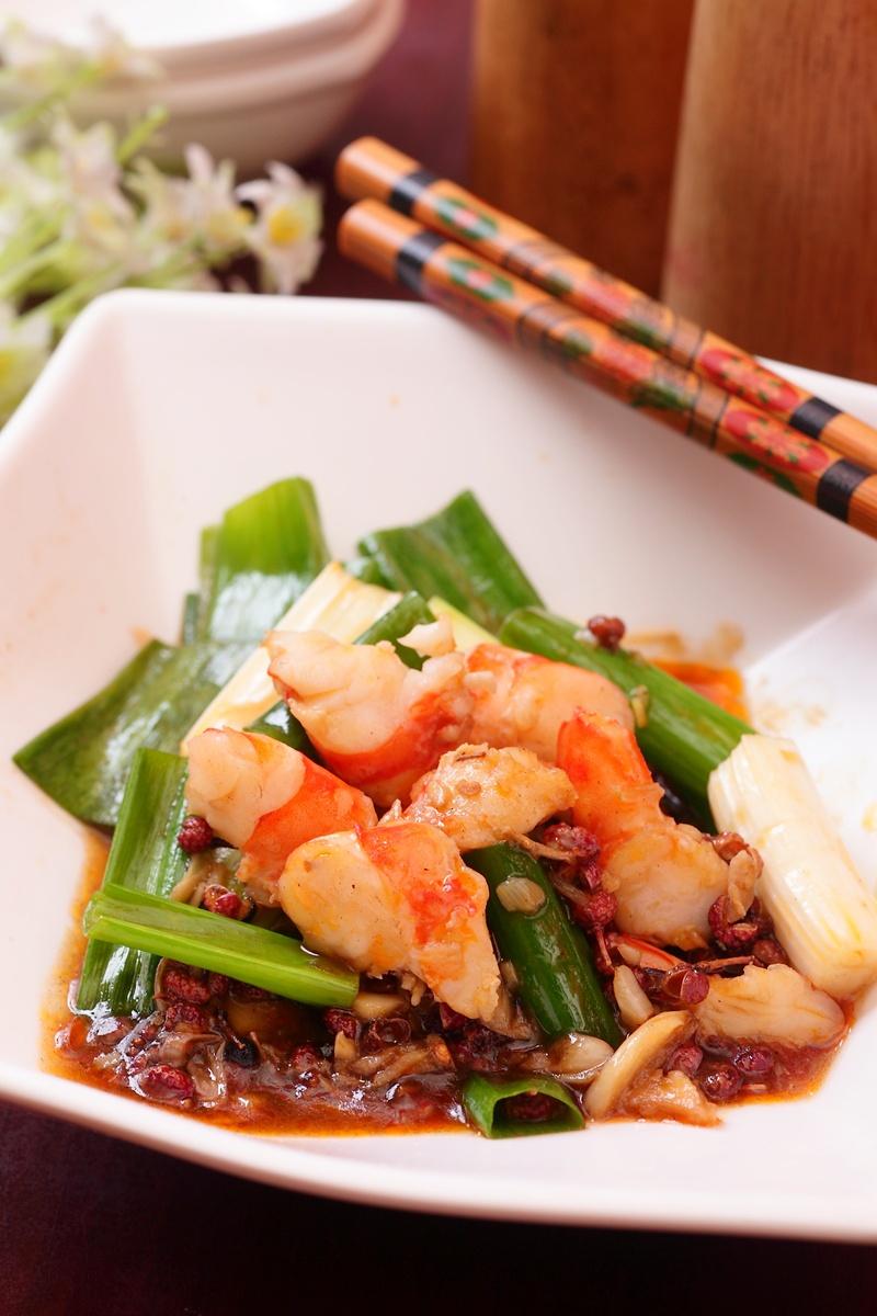 熟草蝦新吃法 ▪ 麻辣蝦片