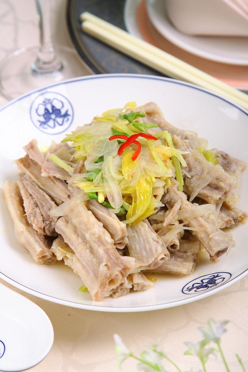 潮州菜 · 涼拌鵝掌翅