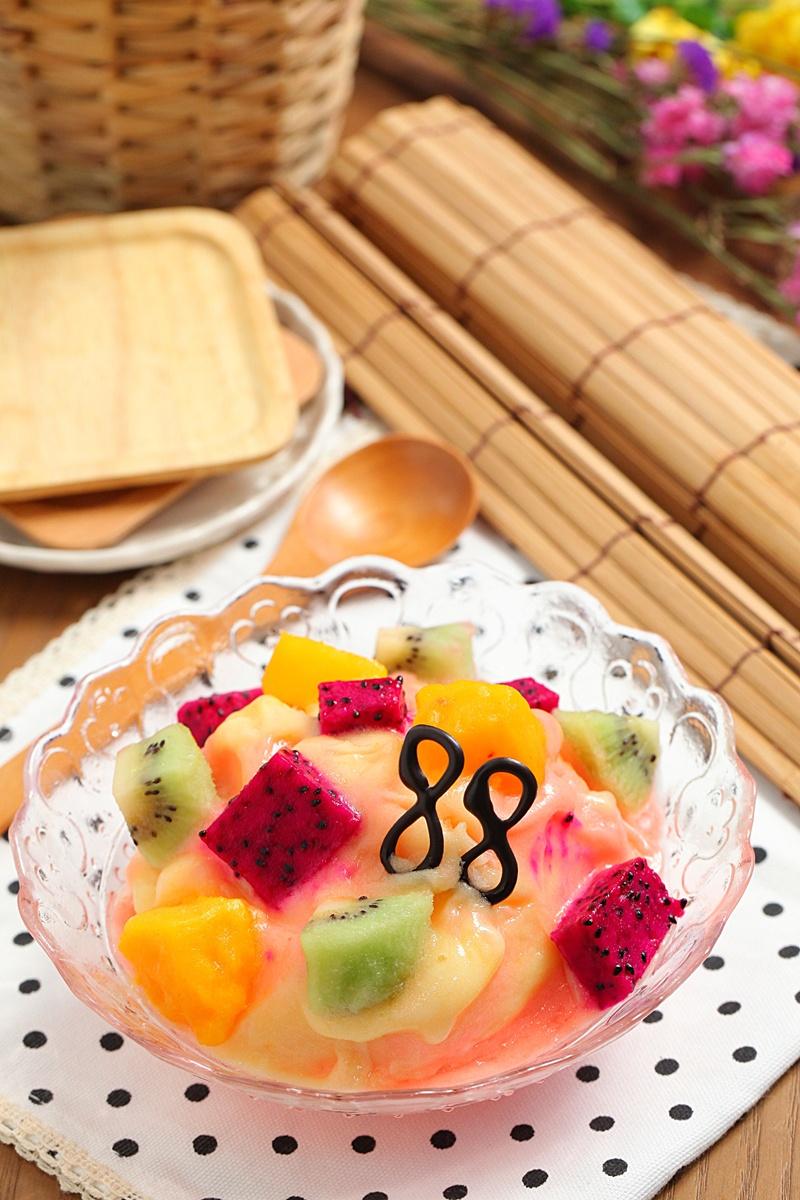 【父親節食譜】繽紛水果冰