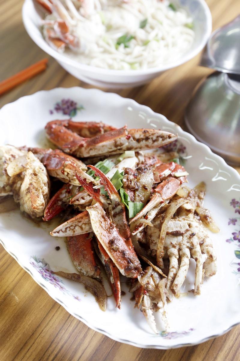 沙茶炒螃蟹