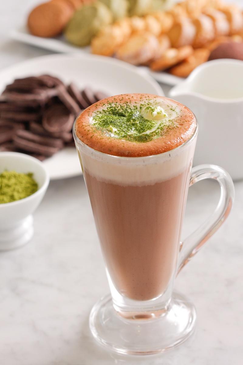日式抹茶熱巧克力