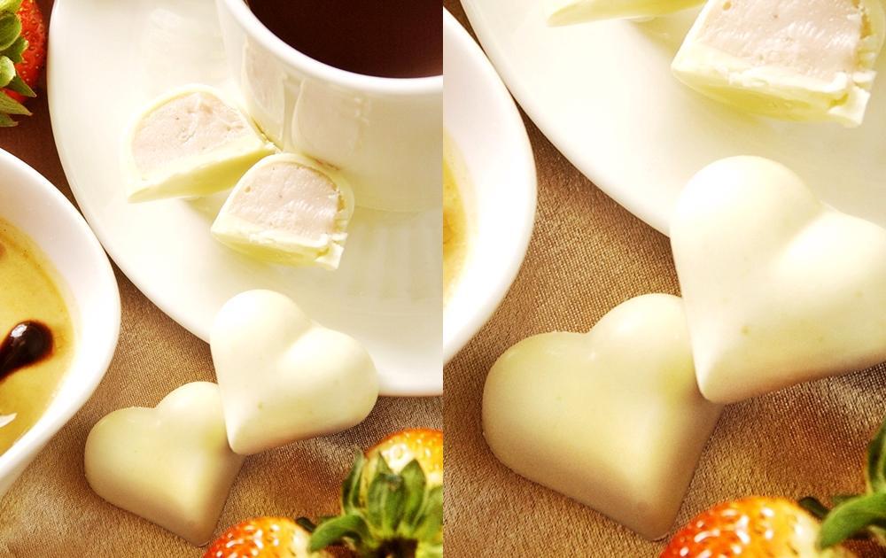 情人節必學!手工巧克力DIY   草莓夾心甜蜜蜜