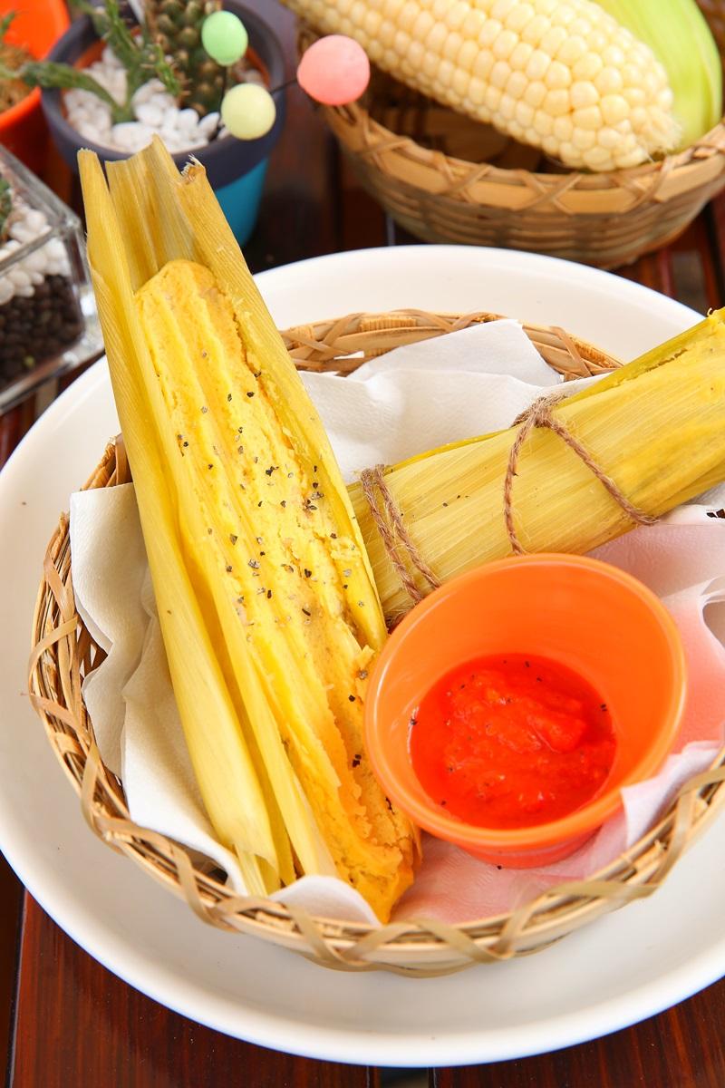 玉米粽 Hayacos de Sal