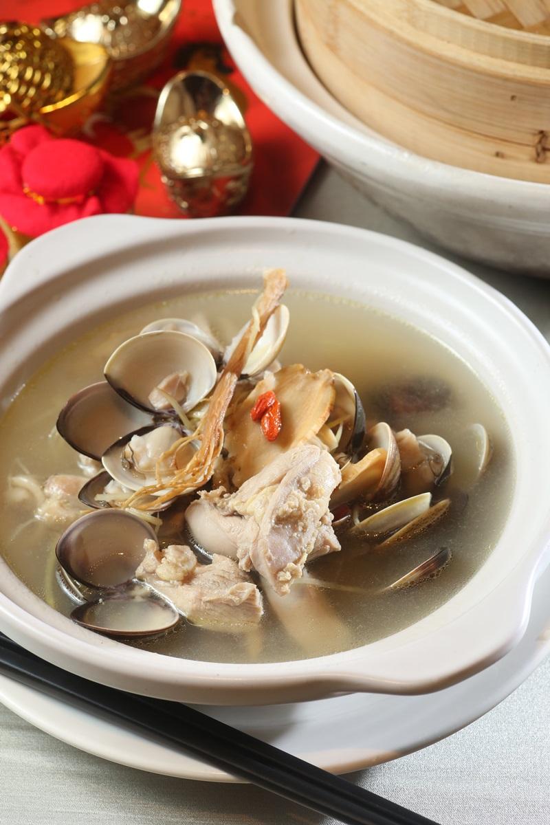 人參蛤蜊雞湯