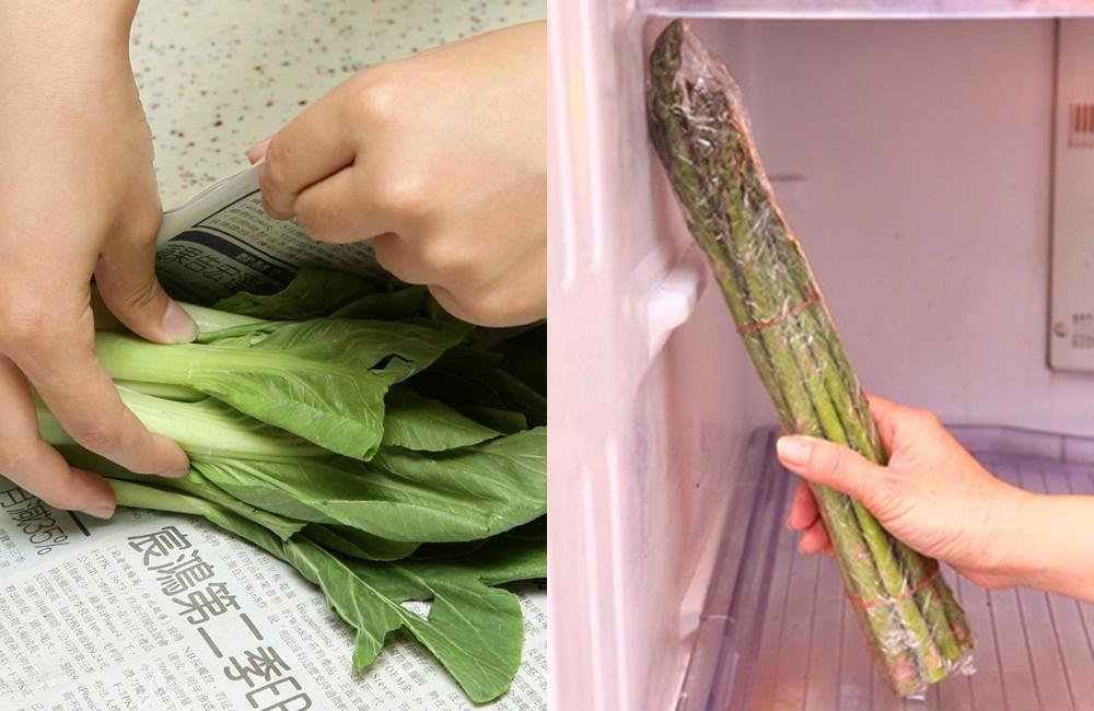 這些直長形蔬菜,「站著」冷藏可以保存更久?