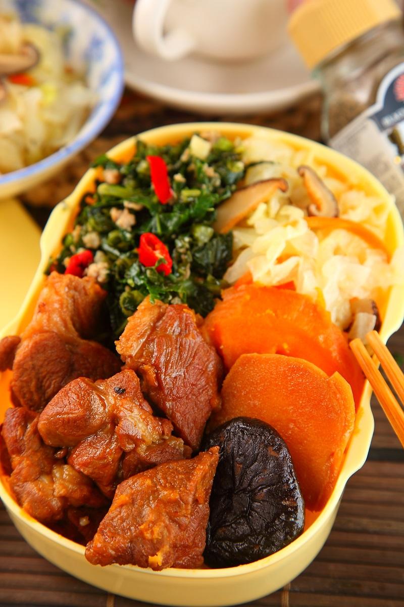 竹筍地瓜燜肉