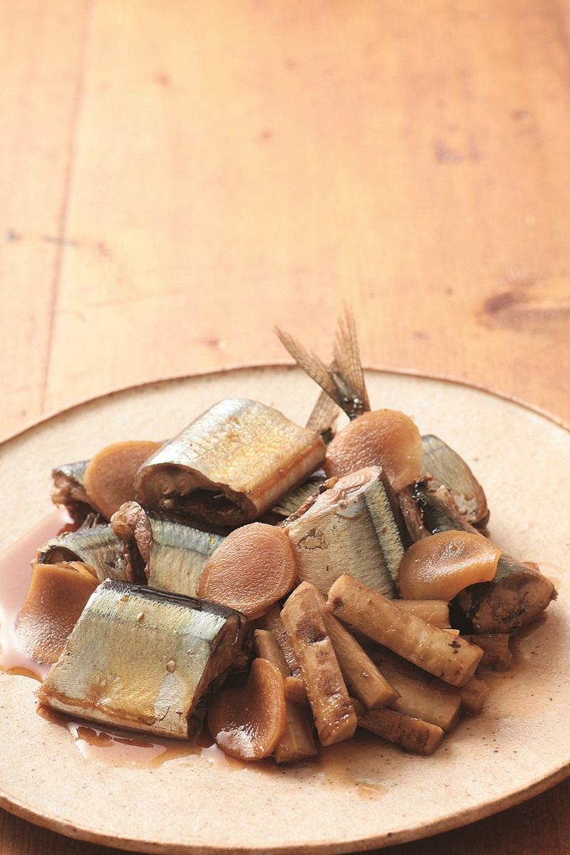 薑燒秋刀魚