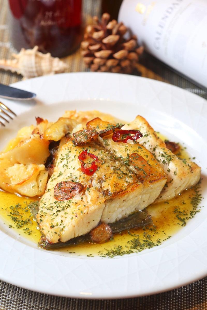 西班牙風味歐立鱸魚