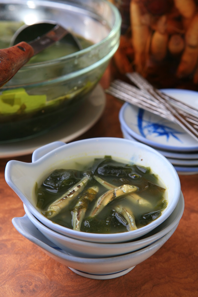 韓式小魚乾海帶湯