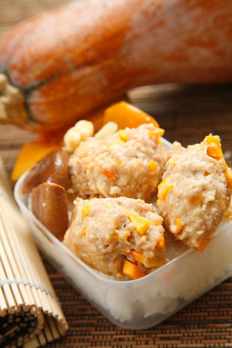 日式南瓜豆腐肉糰子