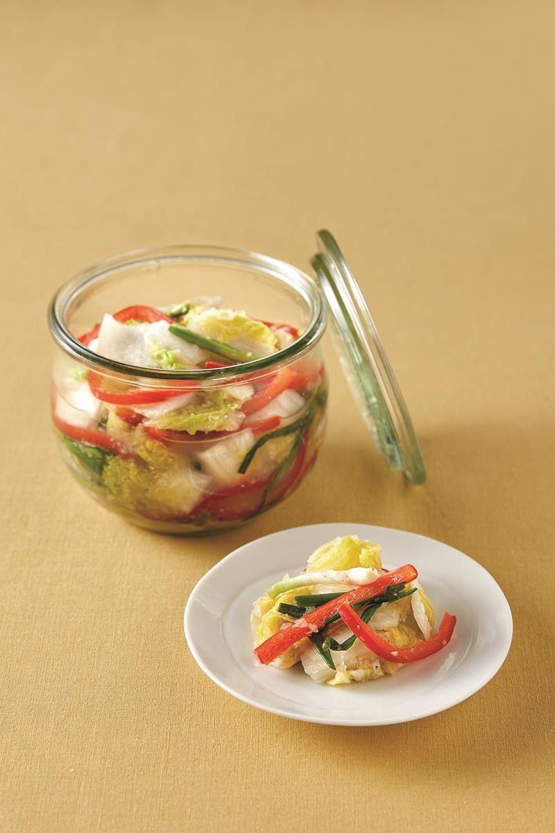 韓式甜椒白泡菜