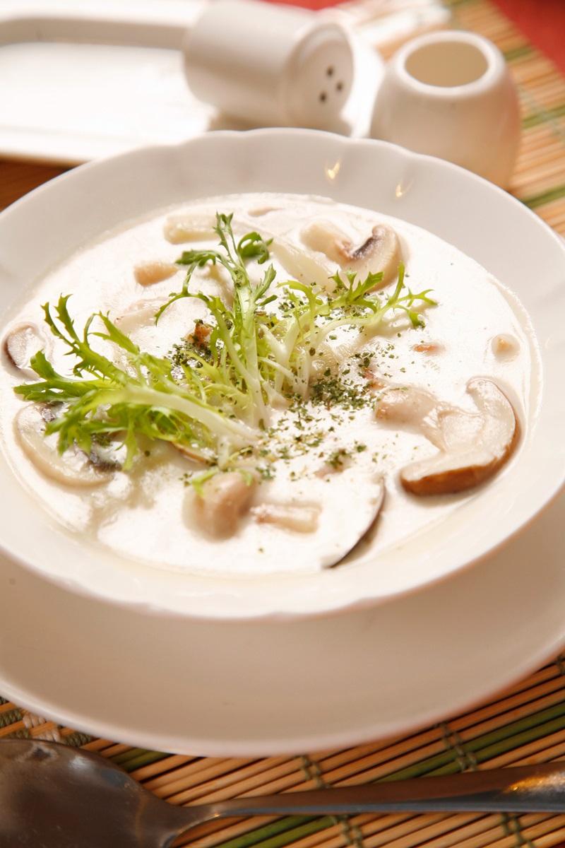 鮮菇巧達濃湯