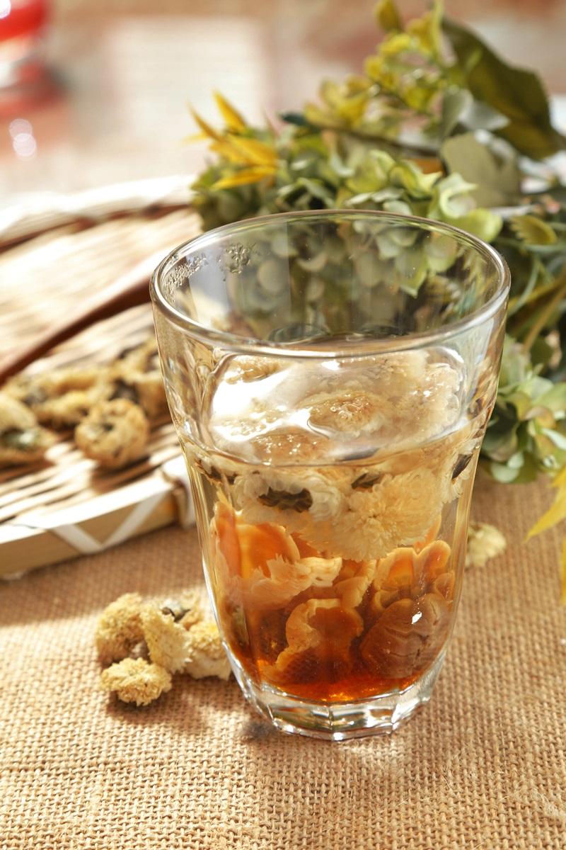 菊花桂圓茶