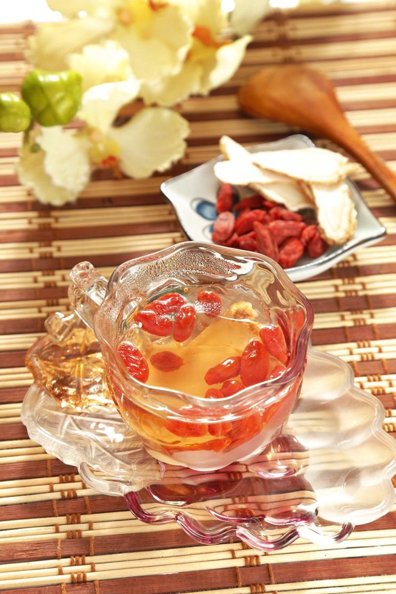 粉光枸杞茶