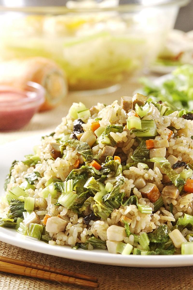 雪菜竹筍燜飯