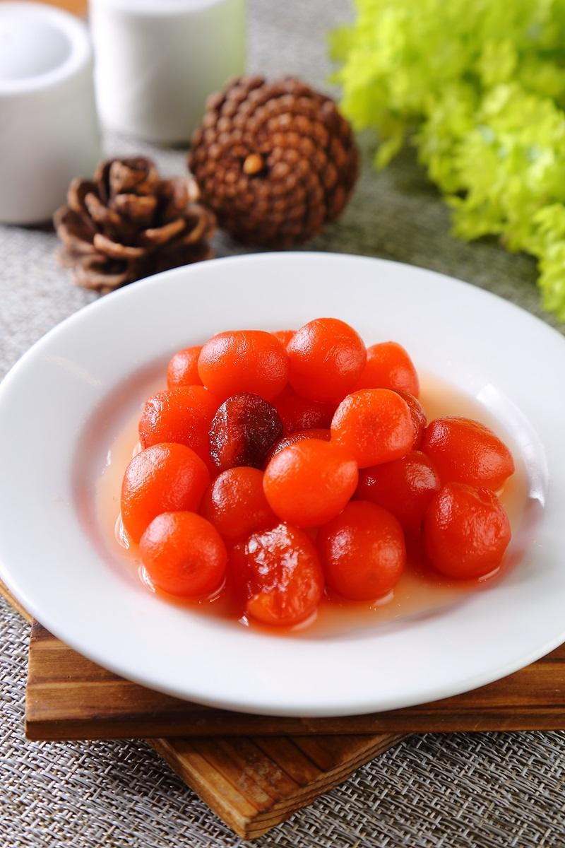 蜜汁紅蘿蔔球