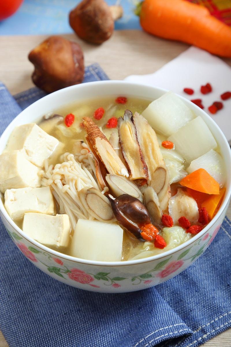 牛蒡養生蔬菜湯
