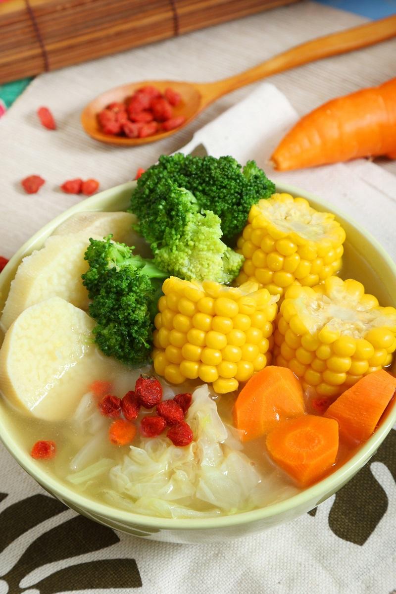 山藥田園蔬菜湯