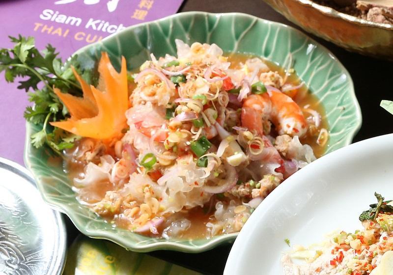 泰式鮮蝦拌銀耳