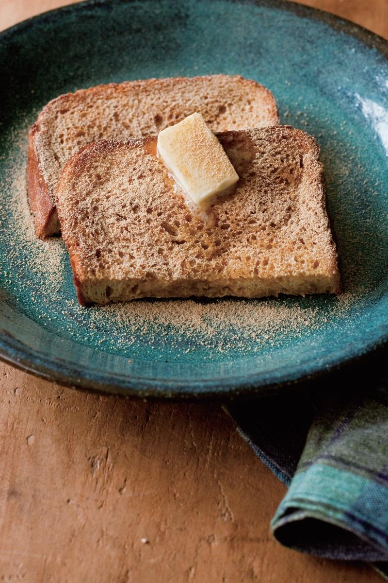 黑糖黃豆粉法式吐司