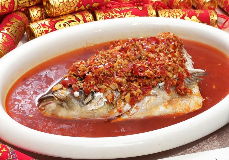 川味剁椒鰱魚頭