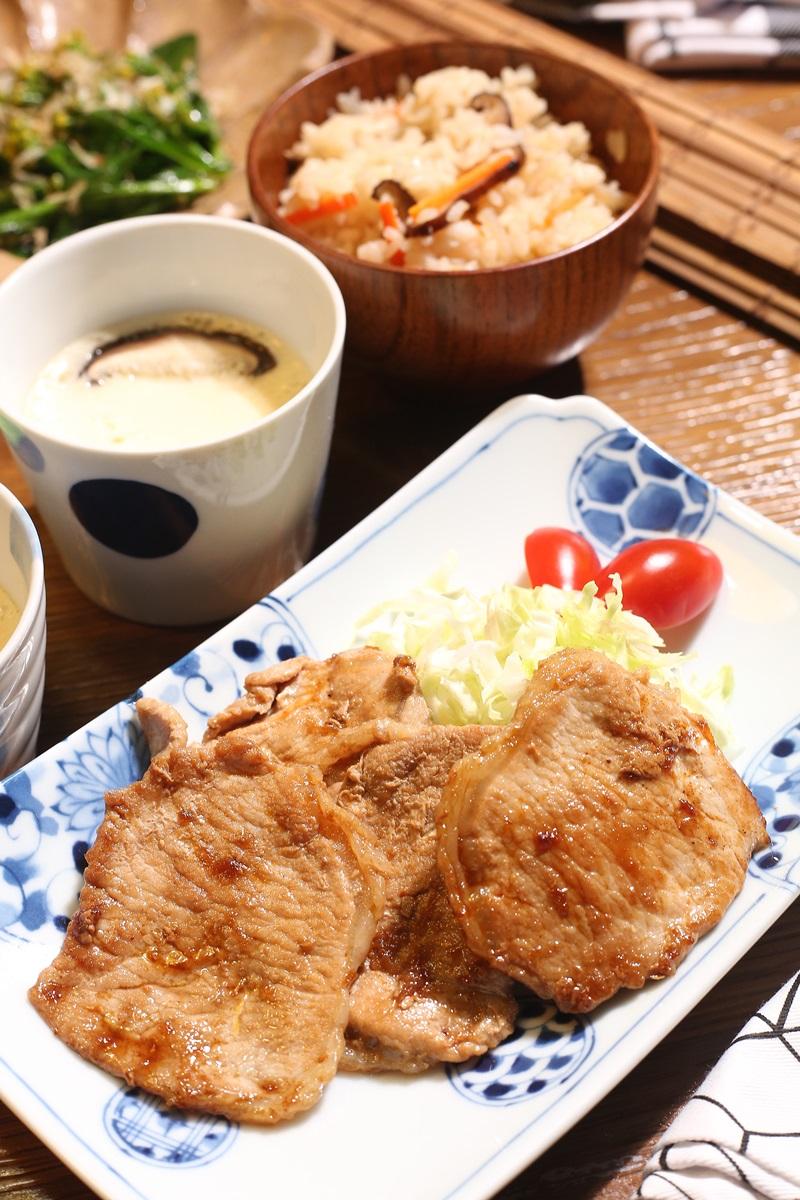日式薑汁豬肉 (影片)