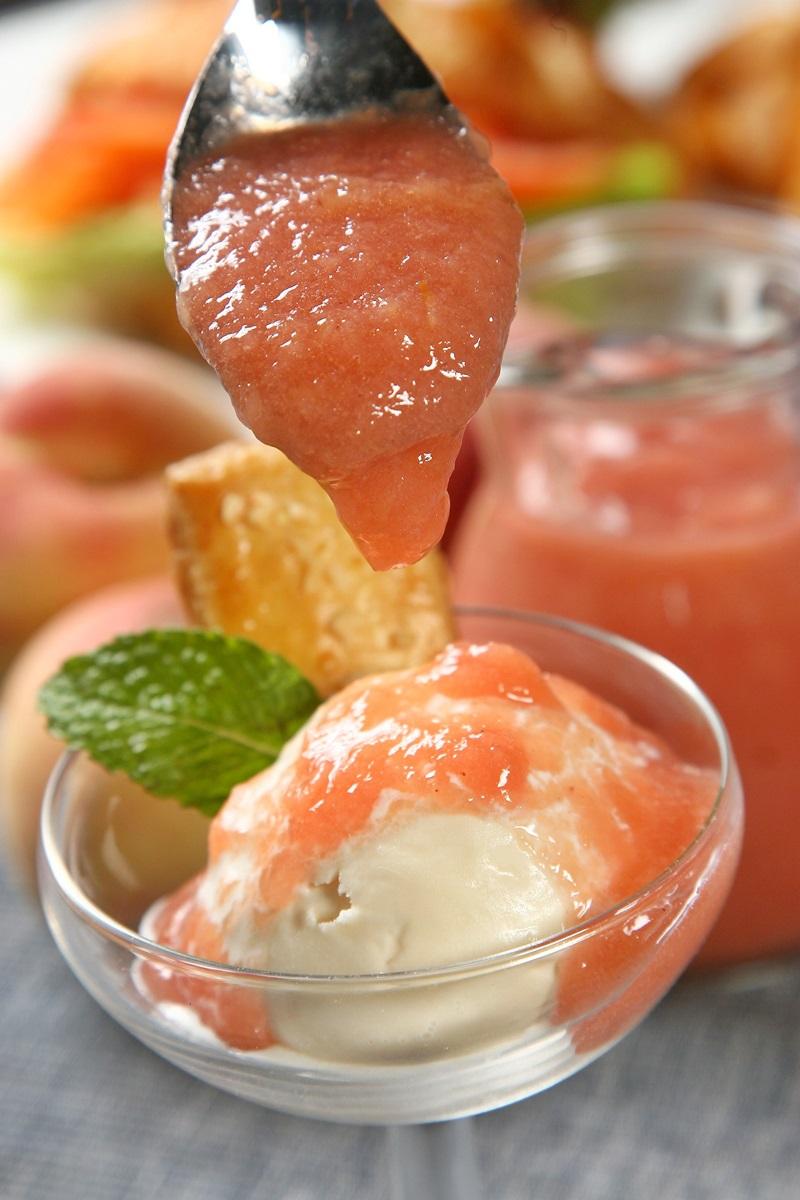自製水蜜桃果醬