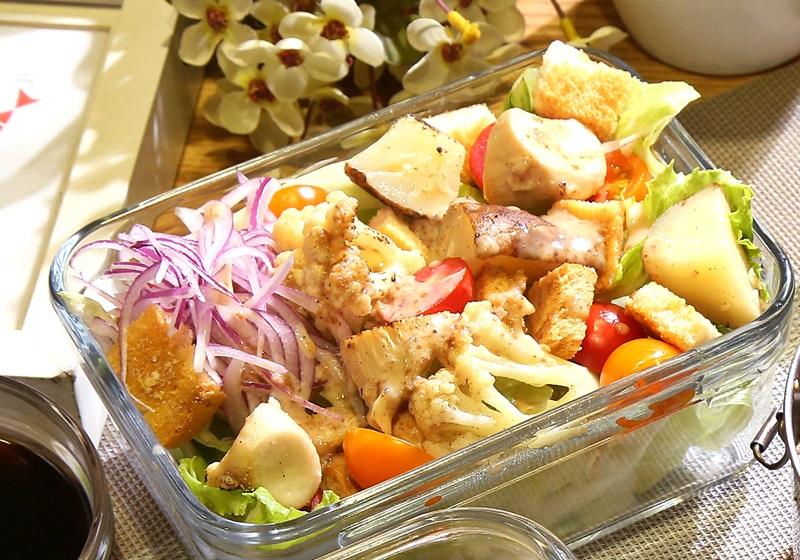 馬鈴薯菇菇溫沙拉