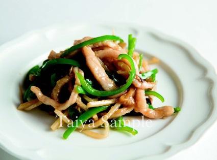 青椒炒豬肉絲