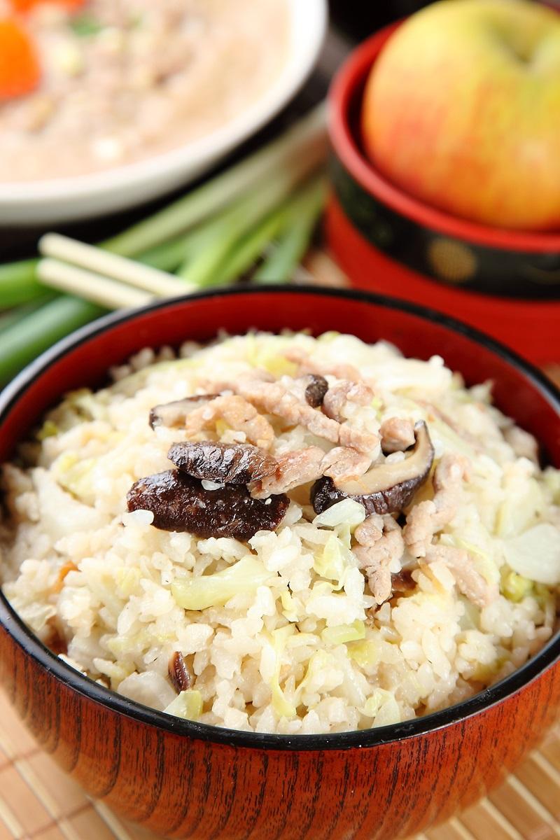 香菇高麗菜飯