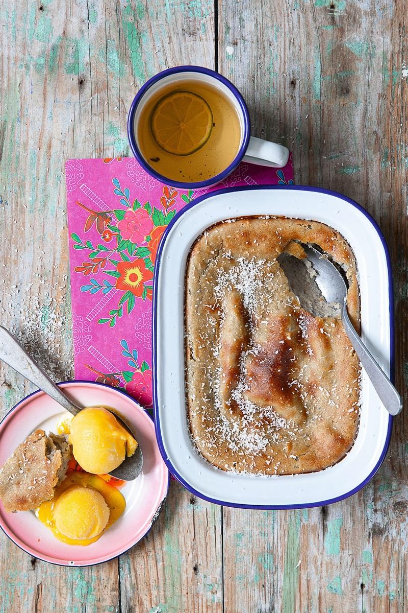 4 樣食材泰國菜   茉莉蛋糕