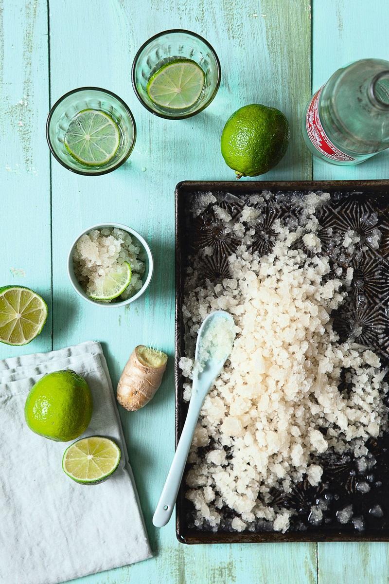 4 樣食材泰國菜 | 薑汁綠檸檬冰沙