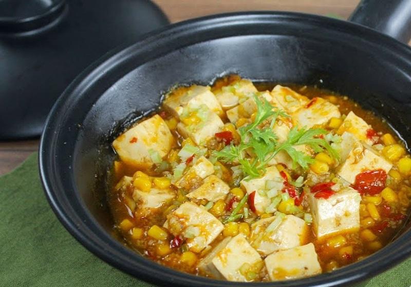 素麻婆豆腐 (影音)