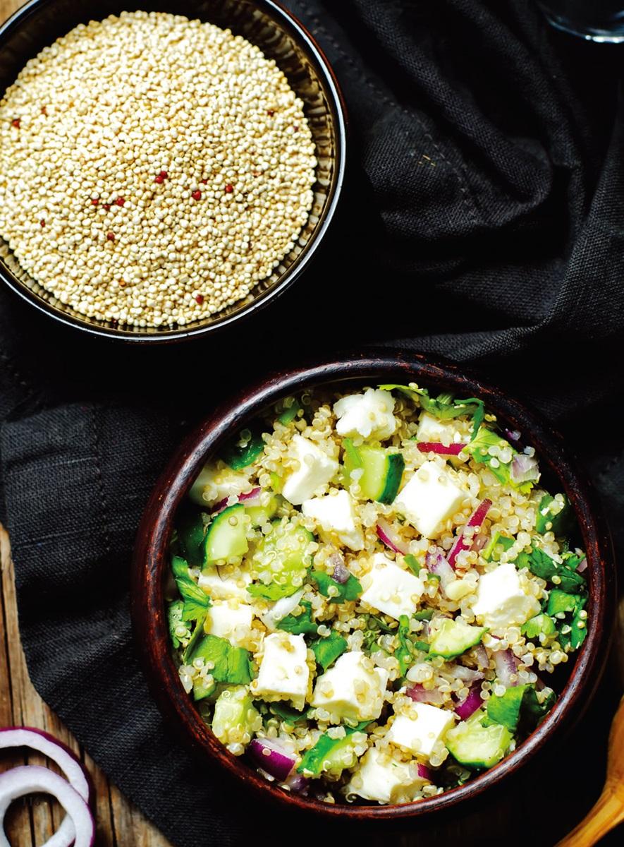 低醣料理 | 藜麥塔布勒沙拉