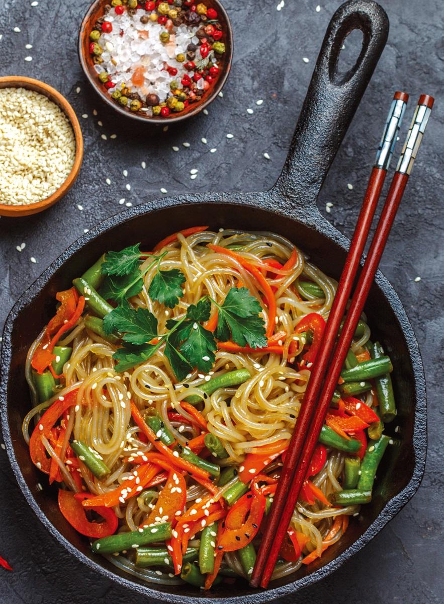 低醣料理 | 韓式蔬菜拌冬粉沙拉