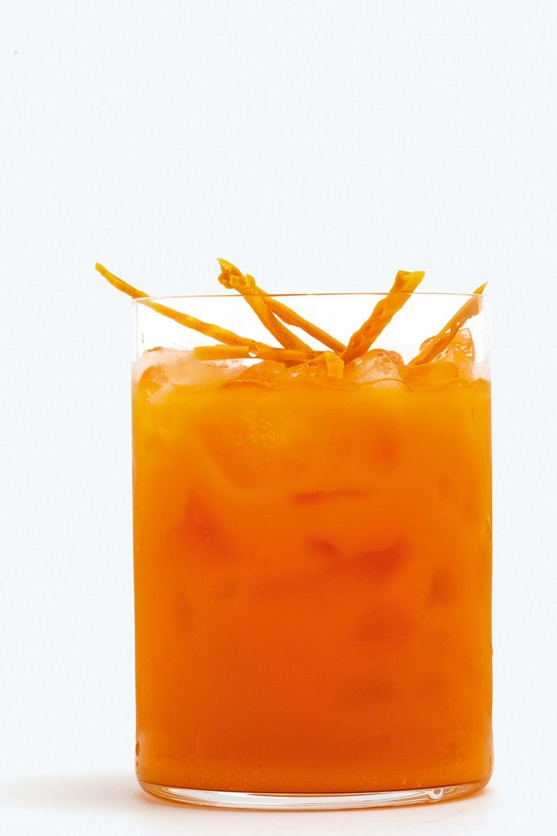 無酒精雞尾酒 | 芒果泰式冰茶