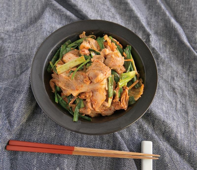 低醣料理   韓國泡菜豬肉