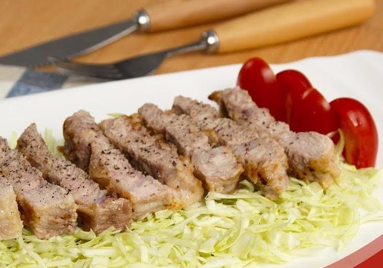 厚煎梅花豬肉排