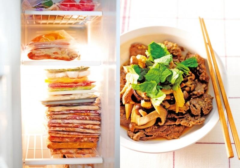 日本媽媽快速上菜的秘訣!冰箱必備「自製冷凍調理包」