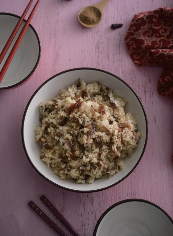 曾雅蘭上菜 | 桂圓糯米飯