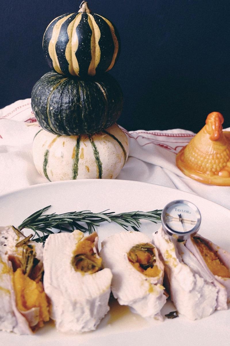 低醣料理 | 南瓜雞肉捲