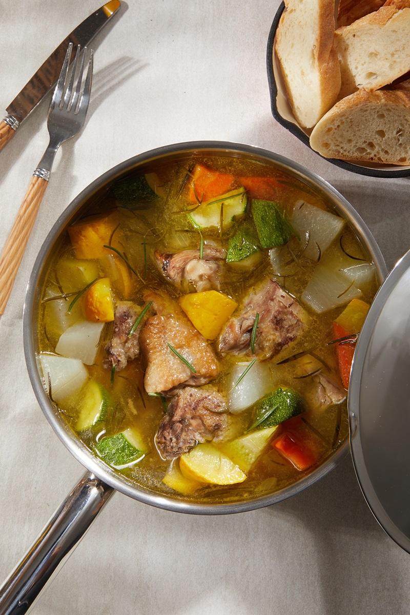 黑鑽大吟釀燉嫩雞湯