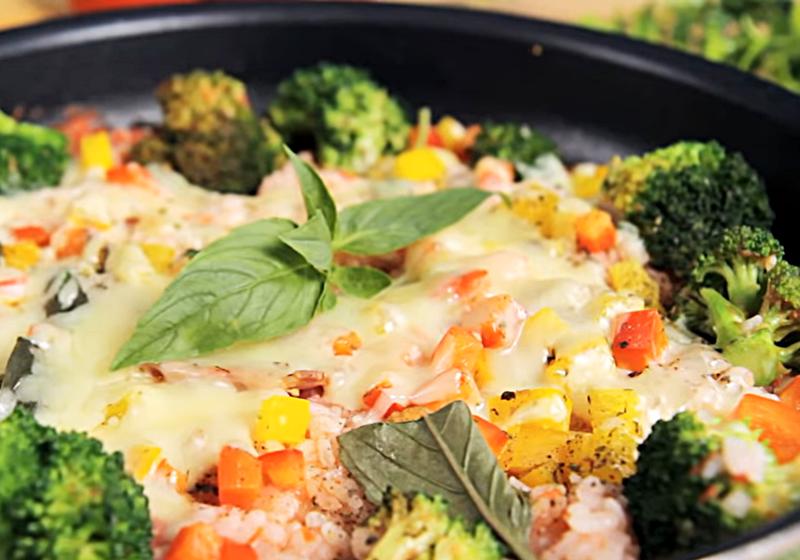 簡易紅醬起司燉飯