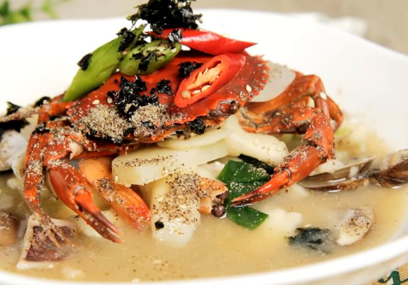 韓式海鮮麵疙瘩(影音)